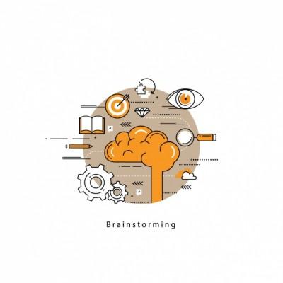آموزش استفاده از روش توفان فکری (Brainstorming) همراه با مثال