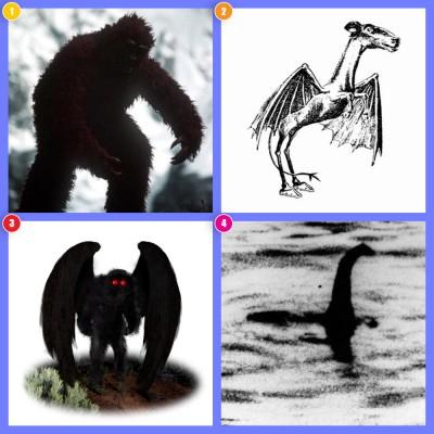 هیولاهای اسرارآمیز: «یتی»، «شیطان جرسی»، «مرد بیدی» و «هیولای لاخ نس»