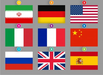 راز پرچم ها: رنگ ها و شکل های روی پرچم ها هر کدام چه مفهومی دارند؟