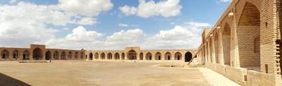 بزرگترین و قدیمی ترین کاروانسرای دیر گچین در ایران