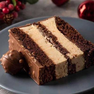 آموزش کیک قهوه و بادامزمينی