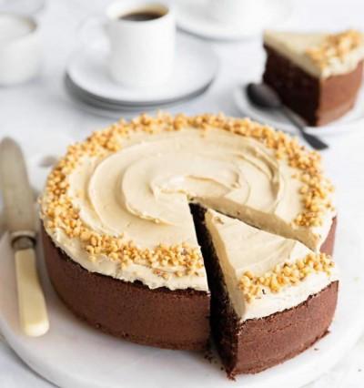 آموزش کیک قهوه و رویه کرم اسپرسو