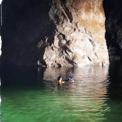 غار نمکی گرمسار