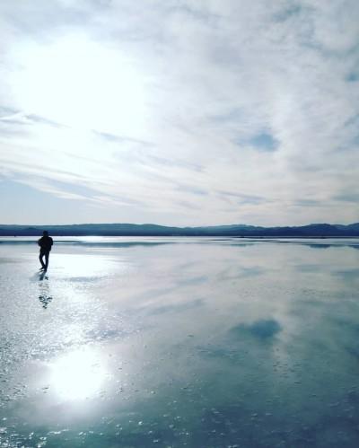 آیا تا به حال بزرگترین آینه طبیعی ایران را از نزدیک دیده اید؟