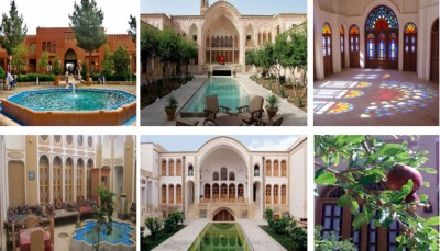 جاذبه های گردشگری و تاریخی خانه های کاشان