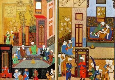 موزه های هنری هاروارد برای نشان دادن نقاشی های فارسی