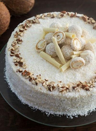 آموزش چیز کیک یخچالی رافائلو بدون تخم مرغ و شکر