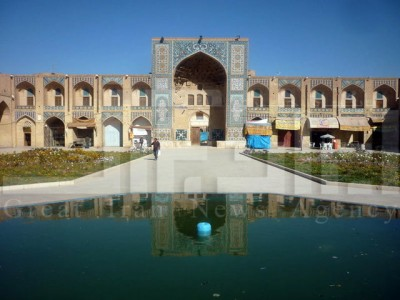 گردشگری مجتمع تاریخی گنجعلی خان