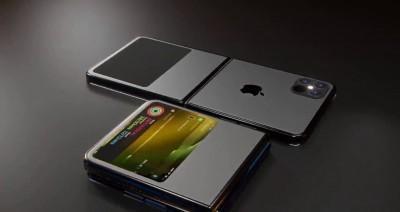 اپل در جمع تولیدکنندگان گوشی های تاشو!!!