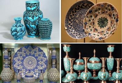 چرا هنر و صنایع دستی ایرانی در جهان مشهور است ؟