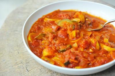 آموزش غذای گیاهی راگو سبزیجات بدون گوشت