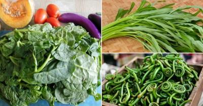 خواص و فوائد سبزیجات سبز برای سلامتی