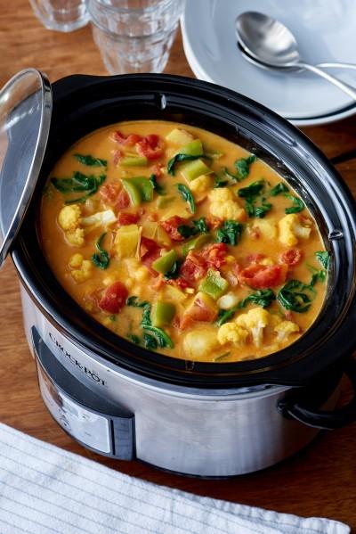 آموزش با آرام پز: خوراک هندی سبزیجات با نخود