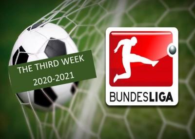 نگاهی به خلاصه بازی های هفته سوم بوندس لیگا آلمان 2020-2021