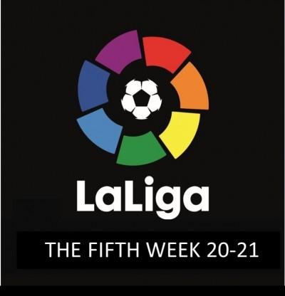 نگاهی به خلاصه بازی های هفته پنجم لالیگا اسپانیا 2020-2021