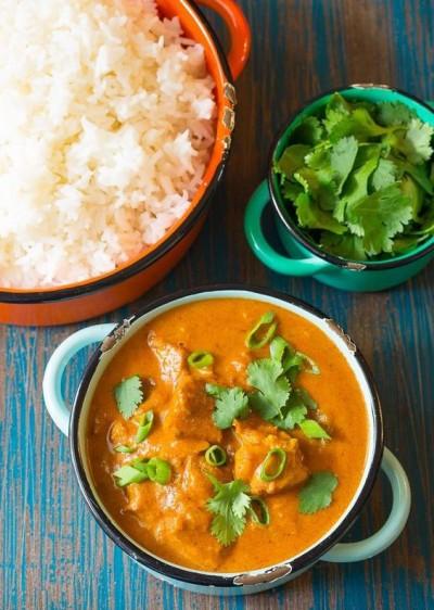 آموزش هندی خوراک مرغ کره ای با طعم کاری