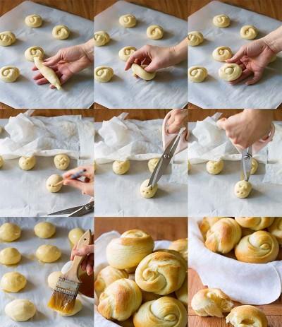 آموزش تهیه خمیر برای انواع رول ها در ارم بلاگ