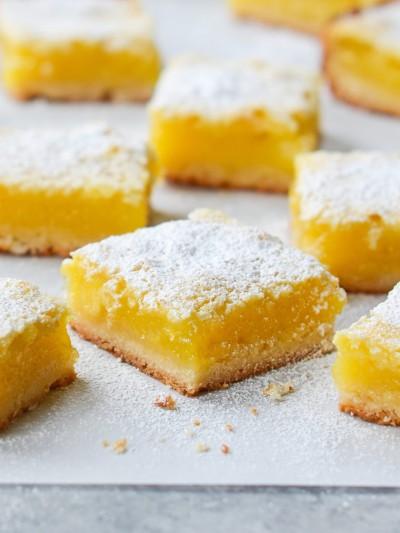 آموزش دسر لیمویی با خمیر شیرینی کره ایی