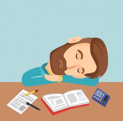 تکنیک های رفع خستگی و خواب آلودگی هنگام درس خواندن و  مطالعه