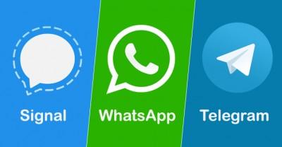 بررسی امنیت در سه پیام رسان واتس آپ ، تلگرام و سیگنال