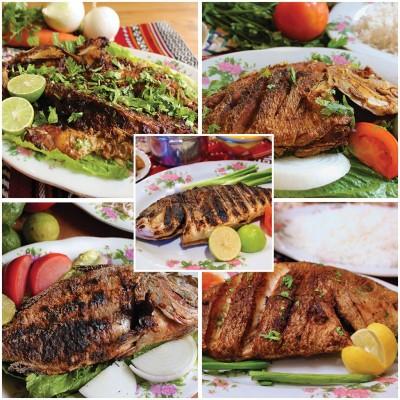 محبوبترین غذی عربی پخت ماهی مَسگوف