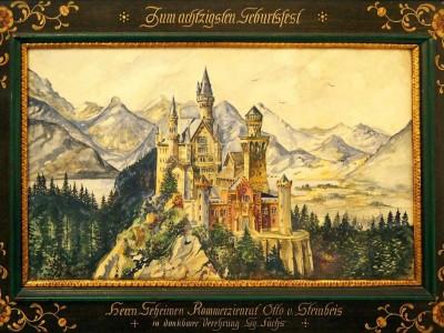 نقاشی قلعه نوشوانشتاین