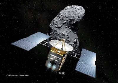 رسیدن نمونه خاکی یک سیارک به زمین