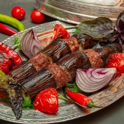 طرز تهیه کازان بادمجان کباب تابهای ترکیهای