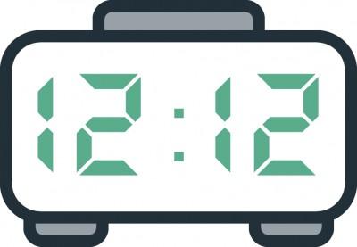 معنی عدد ساعت  12:12