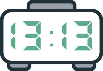 معنی عدد ساعت  13:13