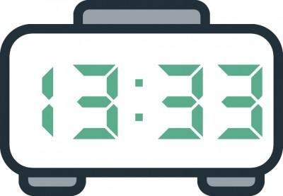 معنی عدد ساعت 13:33