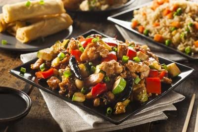 طرز تهیه مرغ کونگ پائو با سبزیجات