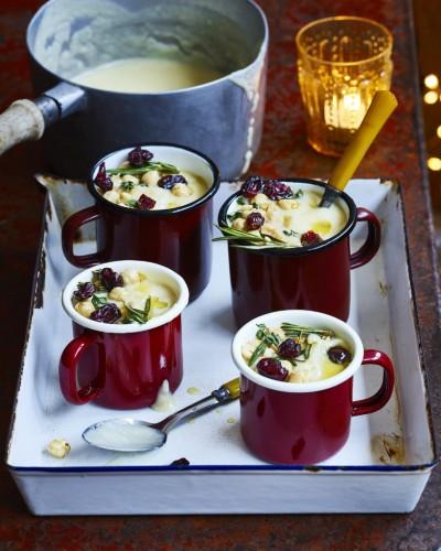 طرز تهیه سوپ پارسنیپ و وانیلی