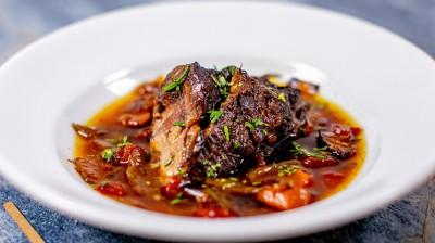 طرز تهیه کباب گوشت گاو و سبزیجات کاراملی شده