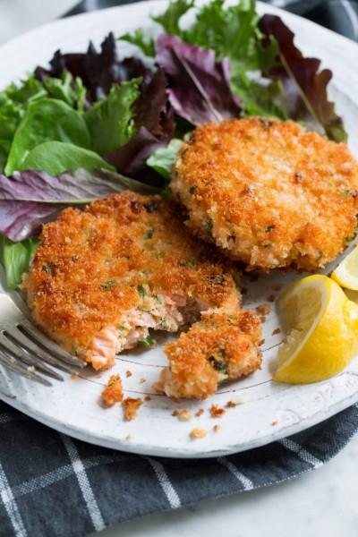 طرز تهیه کتلت ماهی سالمون یا قزل آلا