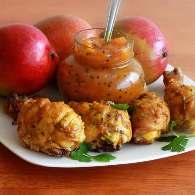 طرز تهیه مرغ با چاتنی انبه هندی
