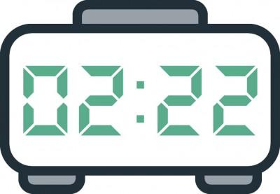 معنی عدد ساعت 02:22
