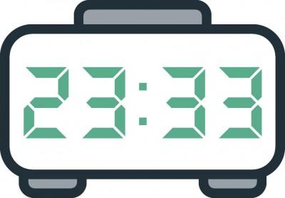 معنی عدد ساعت 23:33