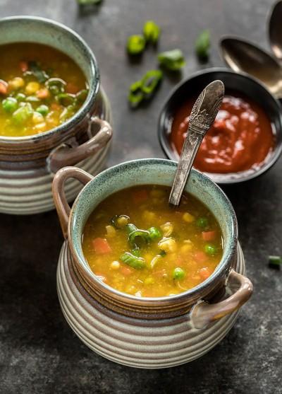طرز تهیه سوپ ذرت شیرین