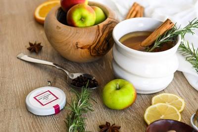 کاهش وزن با آب سیب ، لیمو و دارچین