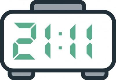 معنی عدد ساعت 21:11