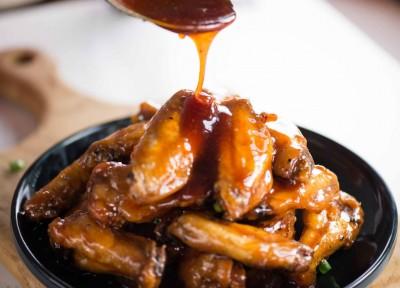 طرز تهیه بال مرغ با طعم شیرین و ترش