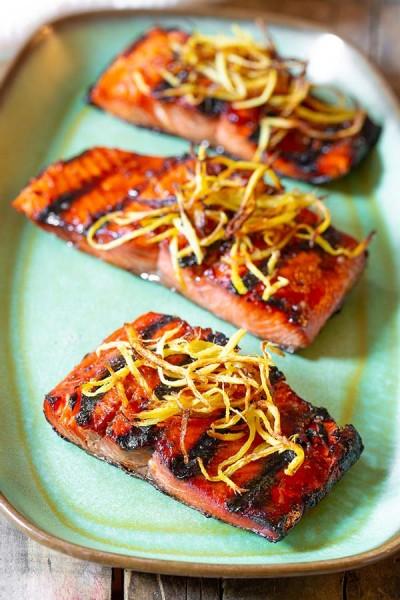 طرز تهیه سالمون دودی آسیایی