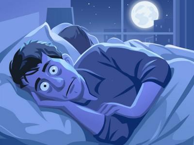 بی خوابی مرتبط با استرس