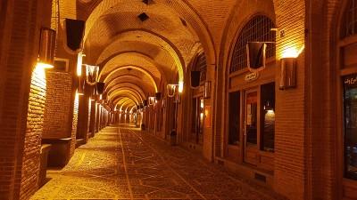 سعدالسلطنه ، بزرگترین کاروانسرای سرپوشیده جهان
