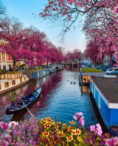 حال و هوای بهاری در شهرهای اروپا