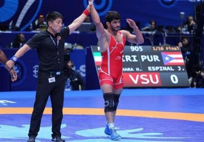 کشتی آزاد ایران با کسب ۳ طلا، ۳ نقره و ۲ برنز قهرمان آسیا شد