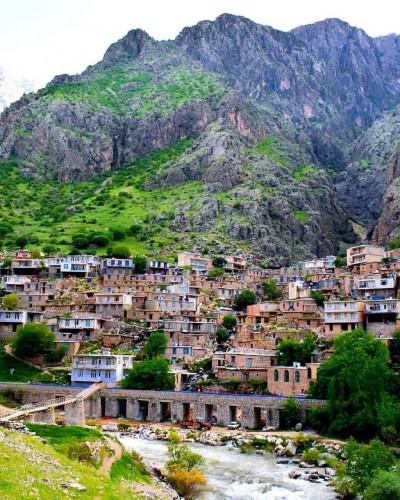 روستای زیبای دیوزناو - کردستان