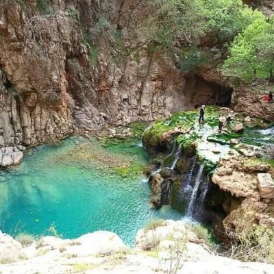 جاذبه های گردشگری - تنگ بوان ممسنی در استان فارس