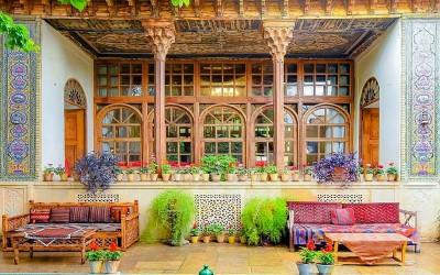 مکانهای دیدنی - خانه تاریخی منطقی نژاد شیراز